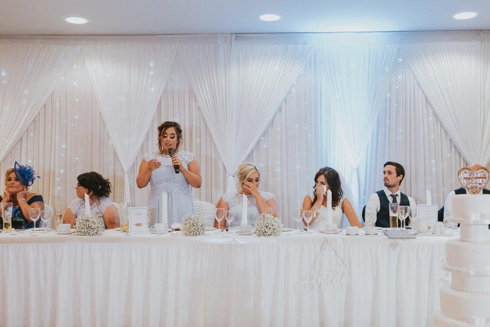 La Mon Hotel Wedding Speeches
