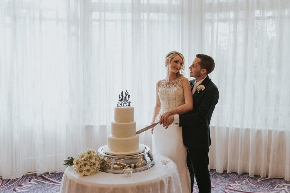 Tullyglass Hotel Wedding Cake