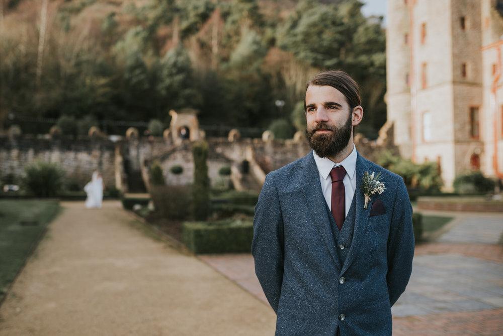 first look wedding photographer belfast
