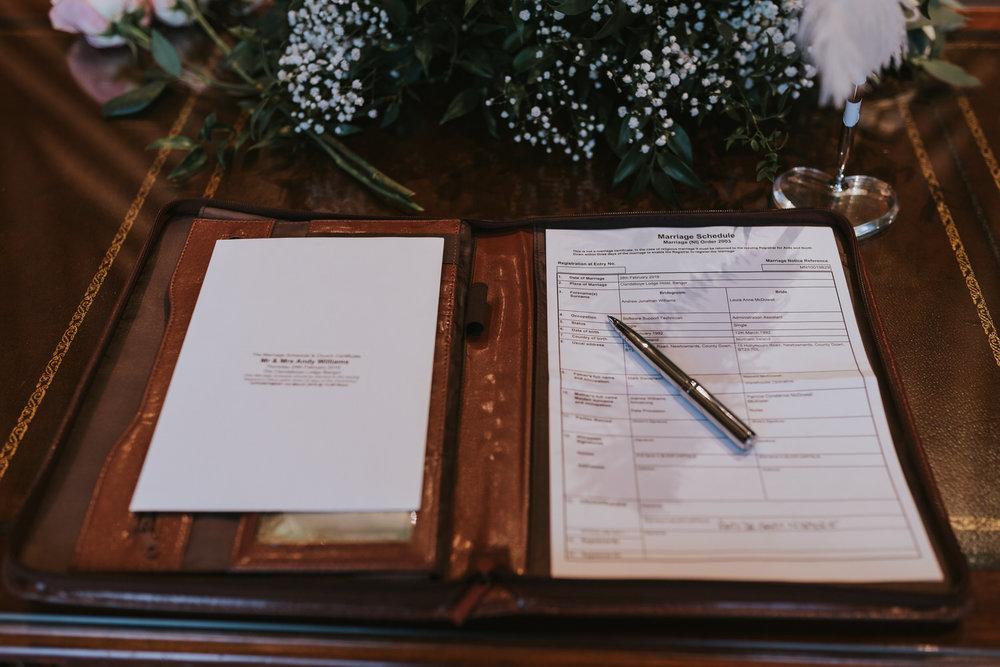Clandeboye Lodge Hotel Wedding 28
