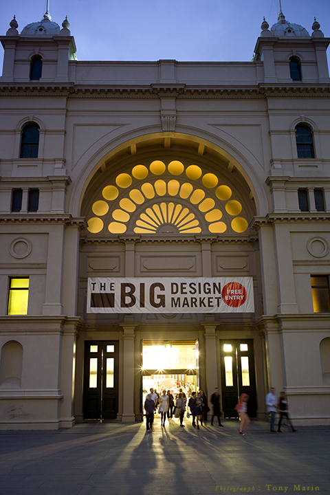 Big Design Market, Tony Marin, Photographer, Melbourne, Event, Royal Exhibition Building