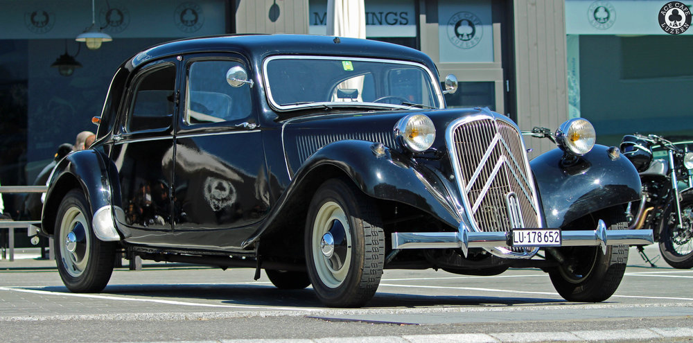 French classic car
