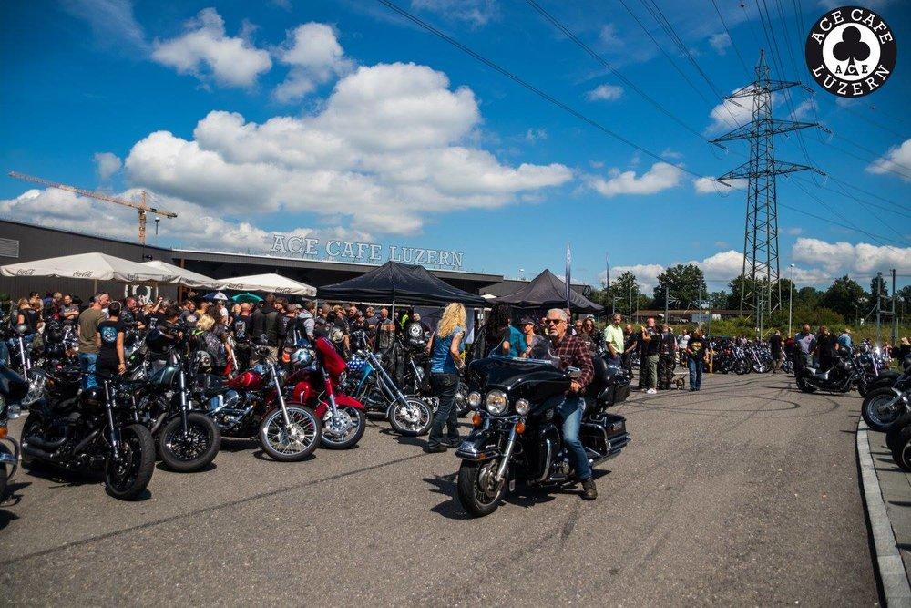 Harley Davidson meet