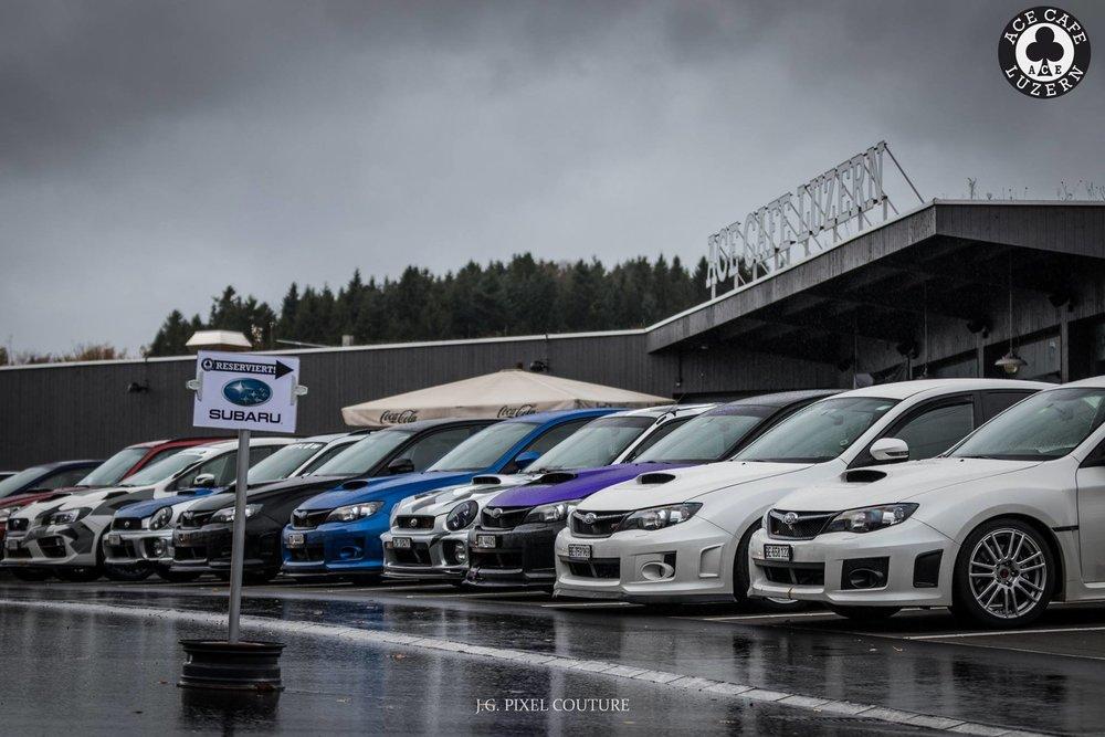 Subaru meet