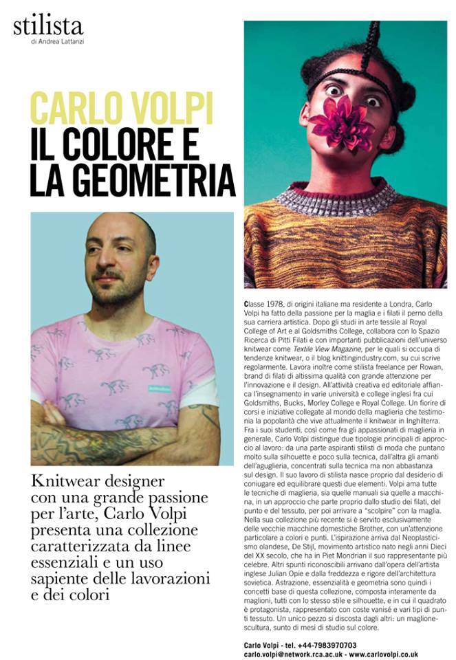 Carlo Volpi featured in   Maglieria Italiana