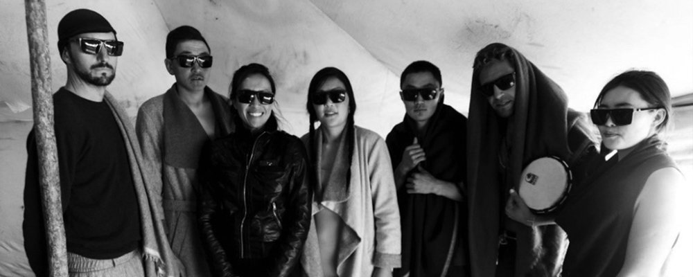 Backstage at the Tengri Fashion Show 2015 in Mongolia