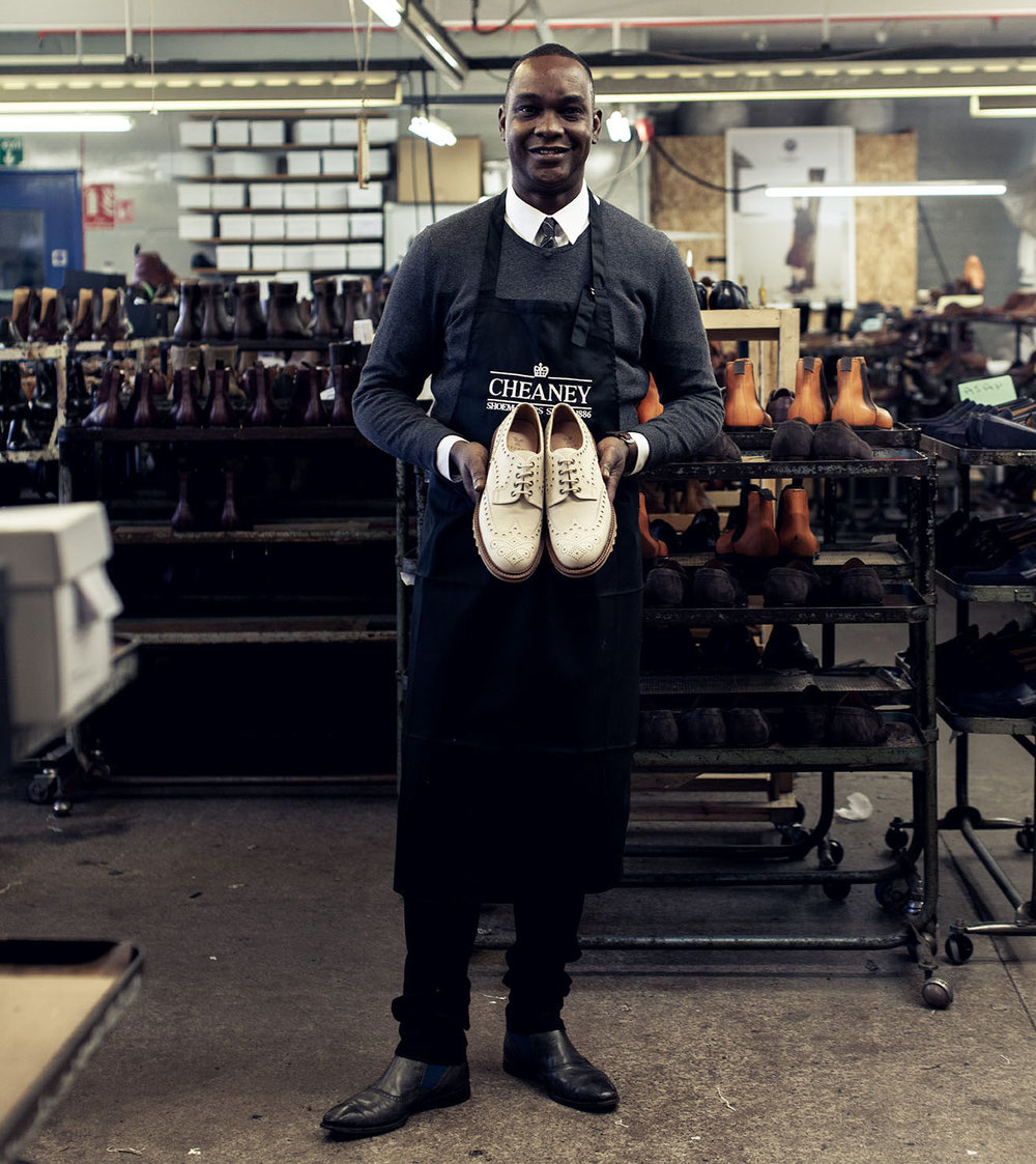 4 - It takes approximately eight to ten weeks to refurbish a pair of shoes. The same level of care and attention to detail goes into refurbishment as it does into creating a brand new pair. Special materials are ordered, and new soles are fitted and stitched, using the traditional Goodyear welting process.The fully refurbished shoes are given a final polish and returned to you, ready for many more years' comfortable wear.