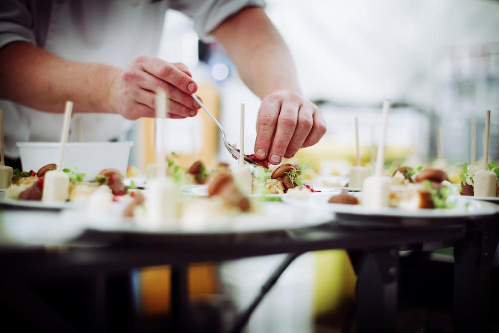 Huwelijksgasten kunnen rekenen op culinaire hoogstandjes