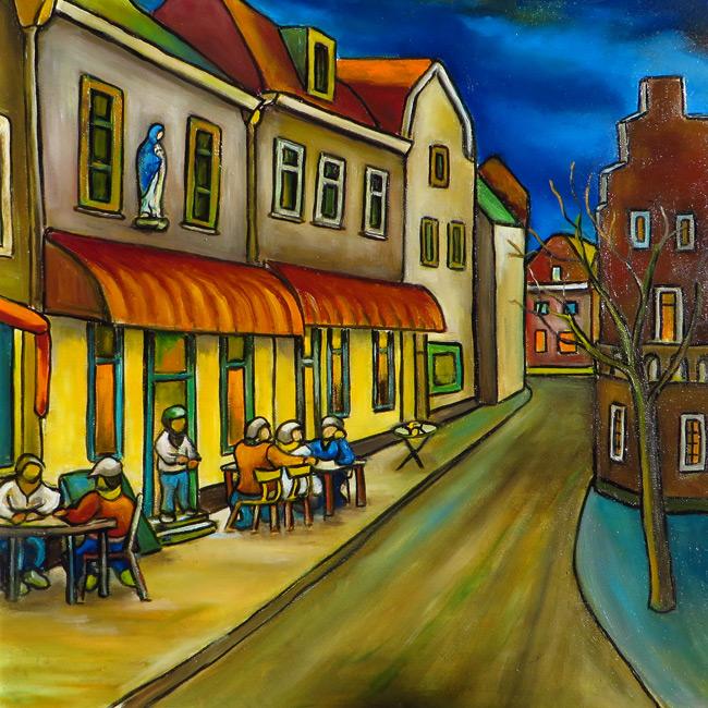 Hennie Schrijver - Nachtcafé Groenmarkt
