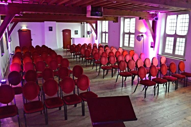 Atelier  Capaciteit 120 personen Zaalverhuur vanaf €750,-