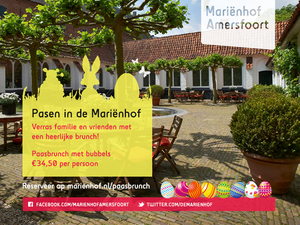 Vier Pasen feestelijk met een heerlijke paasbrunch in de Mariënhof