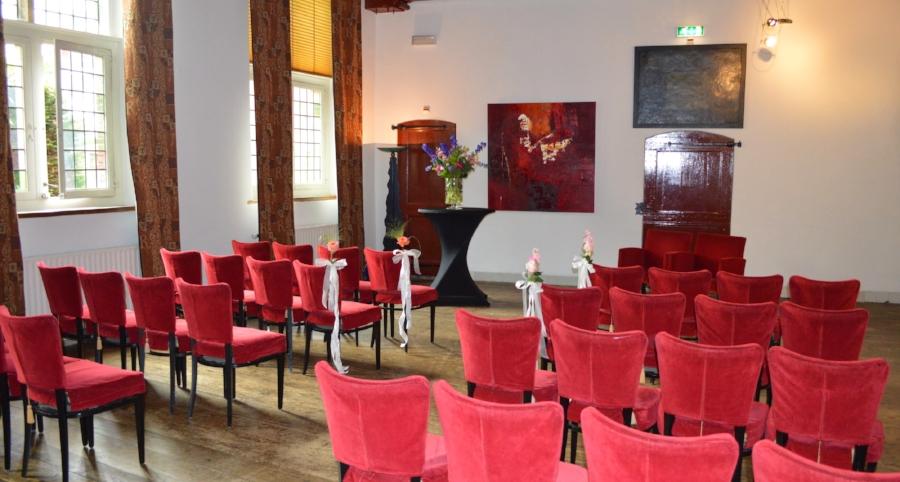 Kloosterkamer II  Capaciteit 40 personen   Zaalverhuur vanaf €395,-