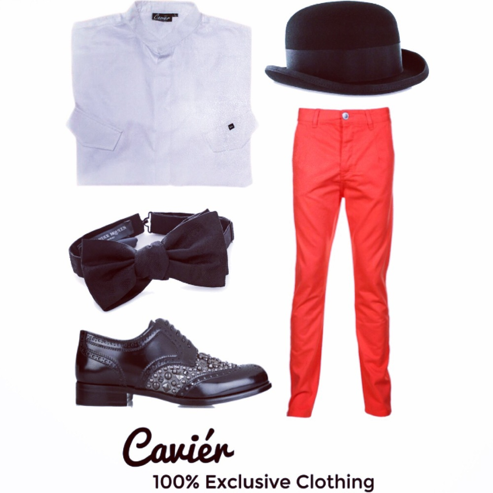 The Summer Charmer (White) $80  Pants: $16  Bowtie: $150  Hat: $37  Shoes: $995