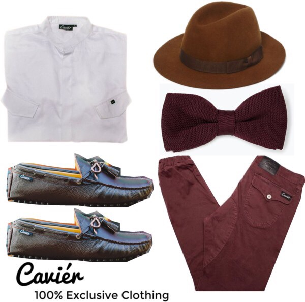 Top: $80  Joggers: $120  Loafers: $180  Hat: $98  Tie: $26