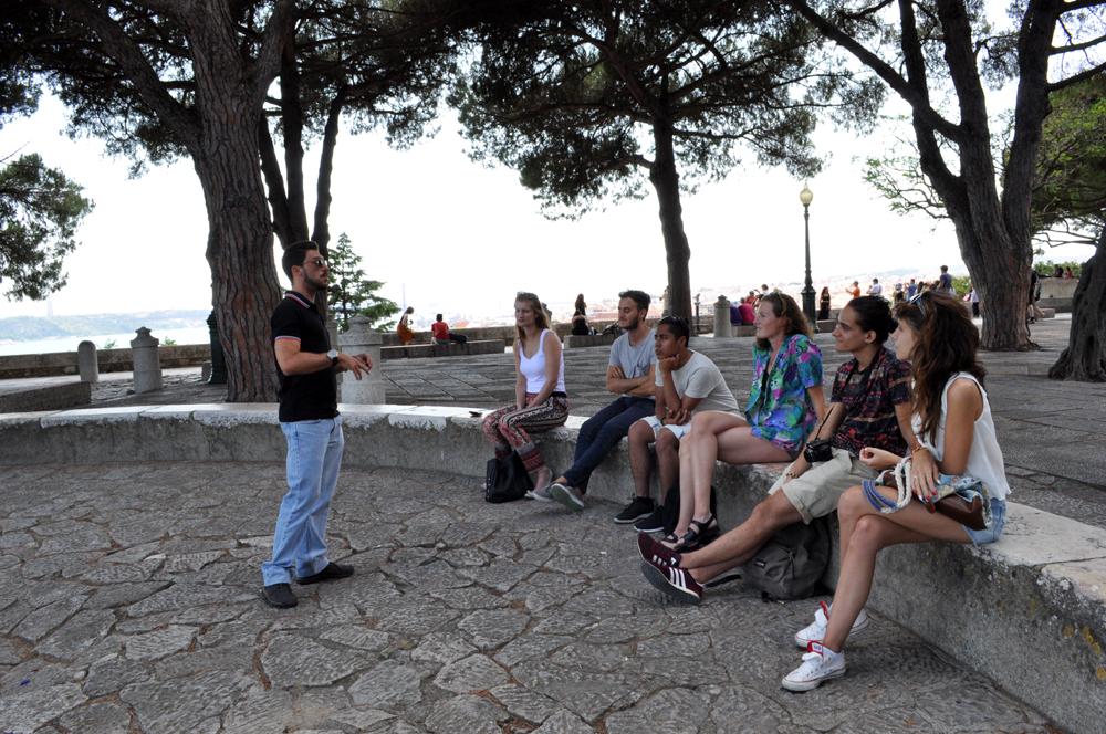 Português Et Cetera Learning Tour to Castelo De São Jorge foto2