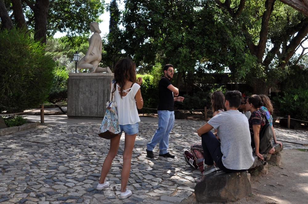Português Et Cetera Learning Tour to Castelo De São Jorge foto5