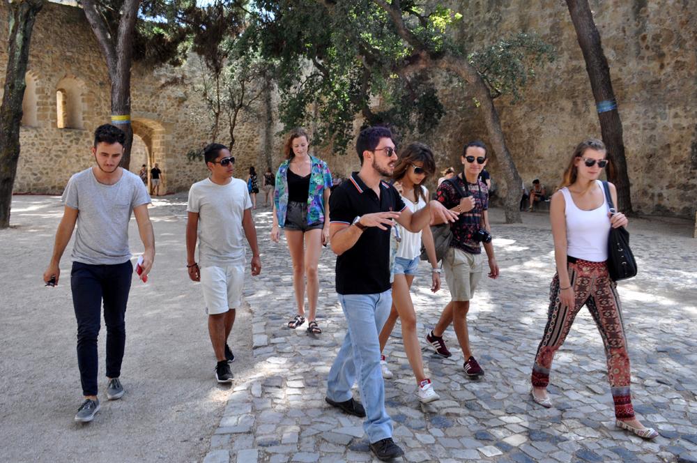 Português Et Cetera Learning Tour to Castelo De São Jorge foto6