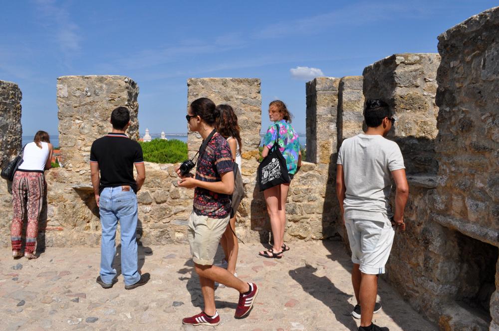 Português Et Cetera Learning Tour to Castelo De São Jorge foto8