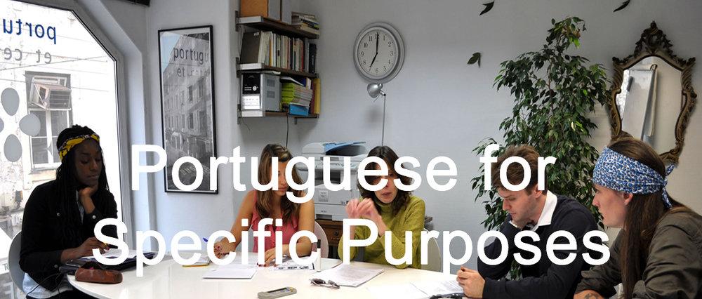 Portuguese for Specific Purposes
