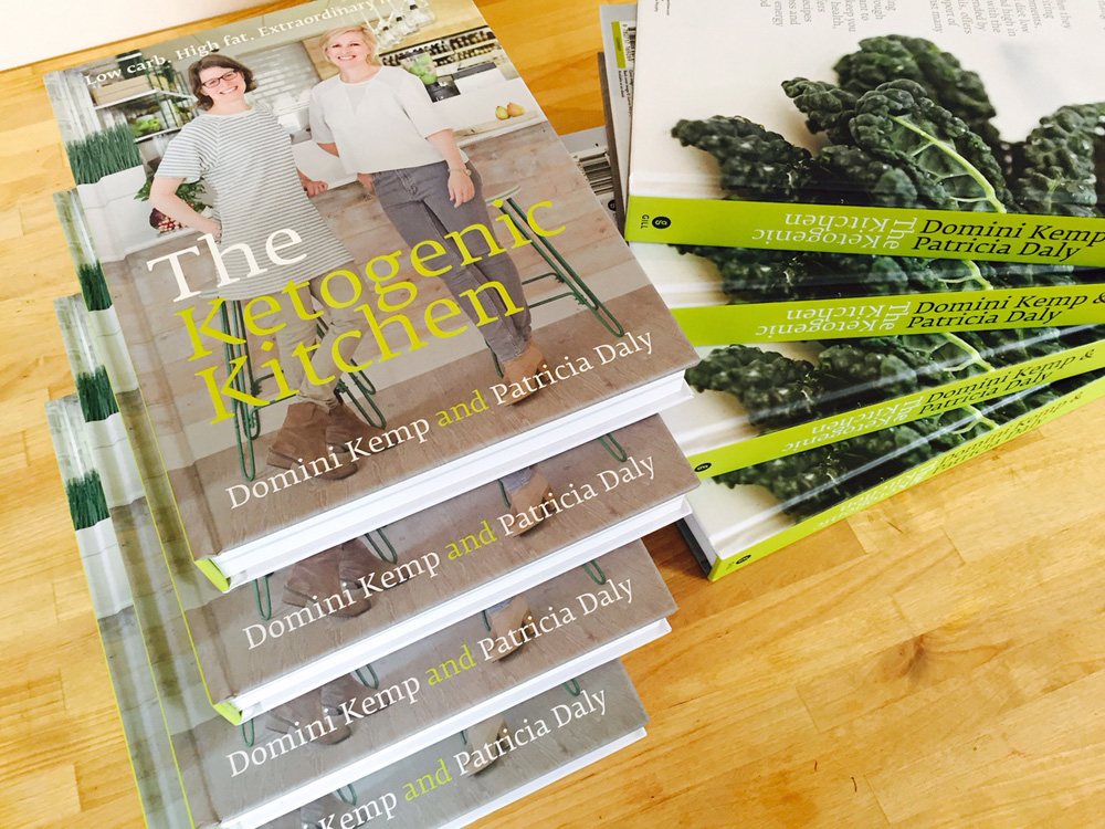 The Ketogenic Kitchen, Domini Kemp and Patricia Daly