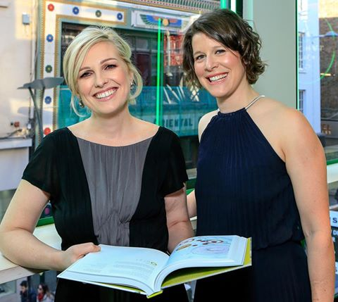 Domini Kemp and Patricia Daly at the launch of The Ketogenic Kitchen in BT2 Grafton Street. Photo: Conor O Mearain