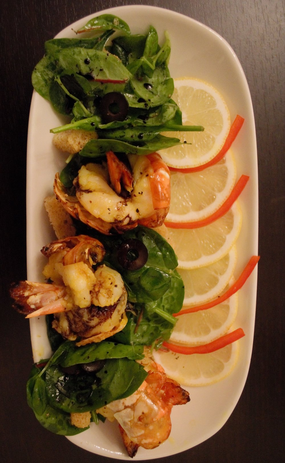 Shell Roast King Prawns