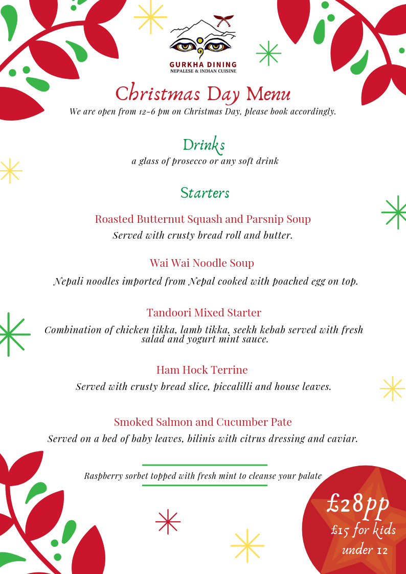 Gurkha Dining Christmas Day Menu 1.png