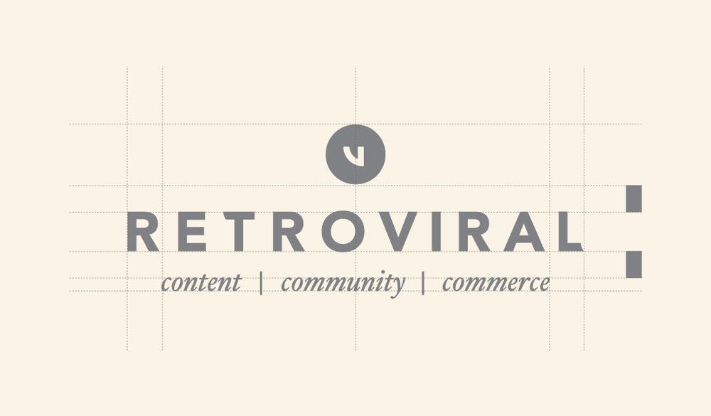 Retro logo make up
