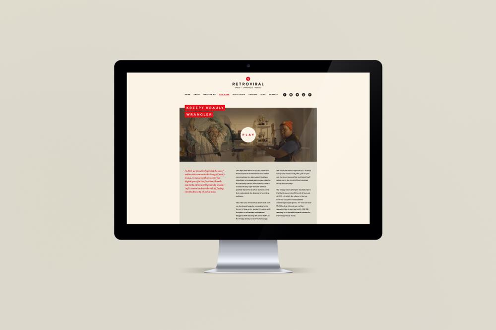 Retro website v2