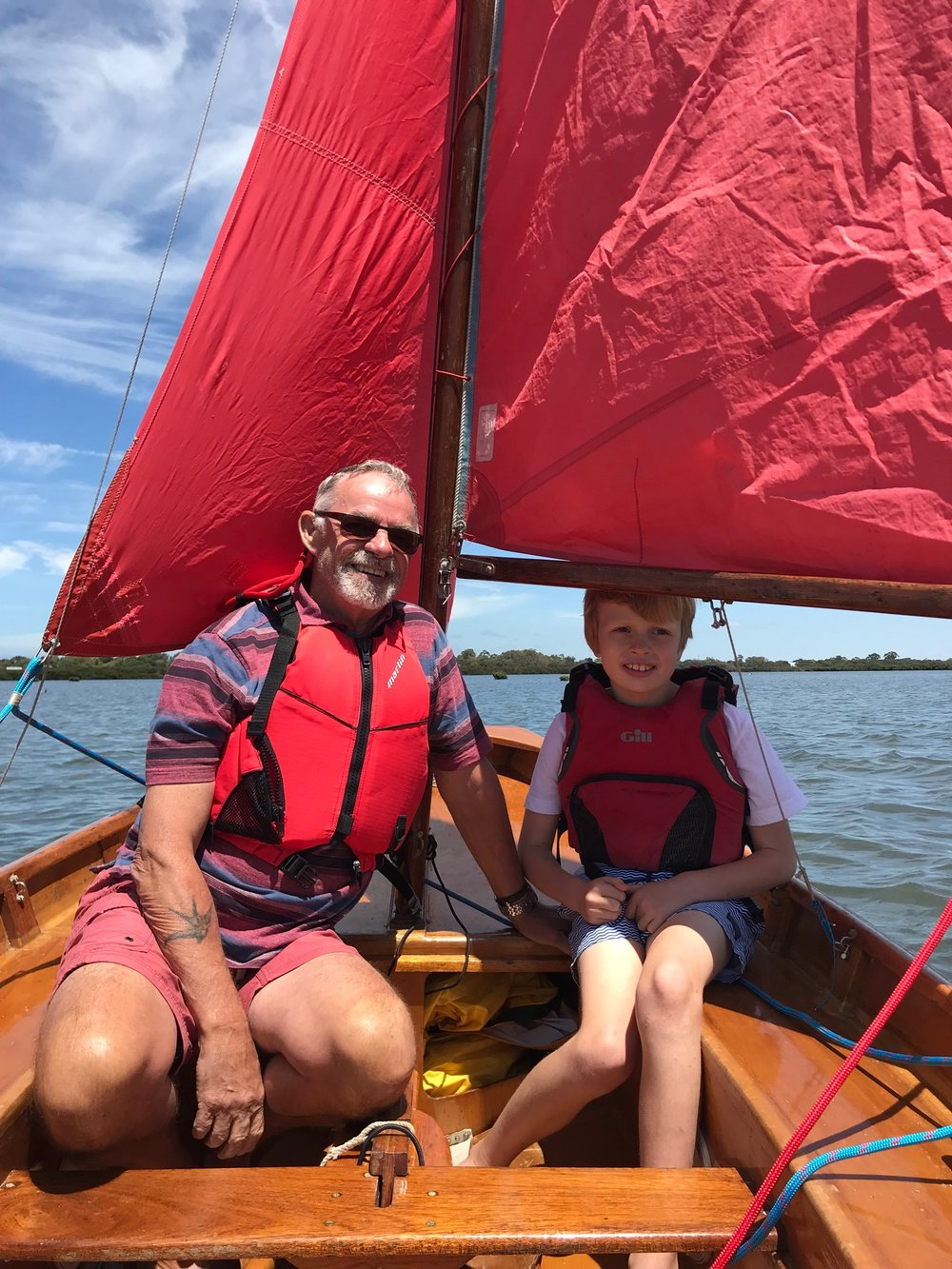 Sailing is not only environmentally friendly. It teaches young ones about the environment and some great life-skills.