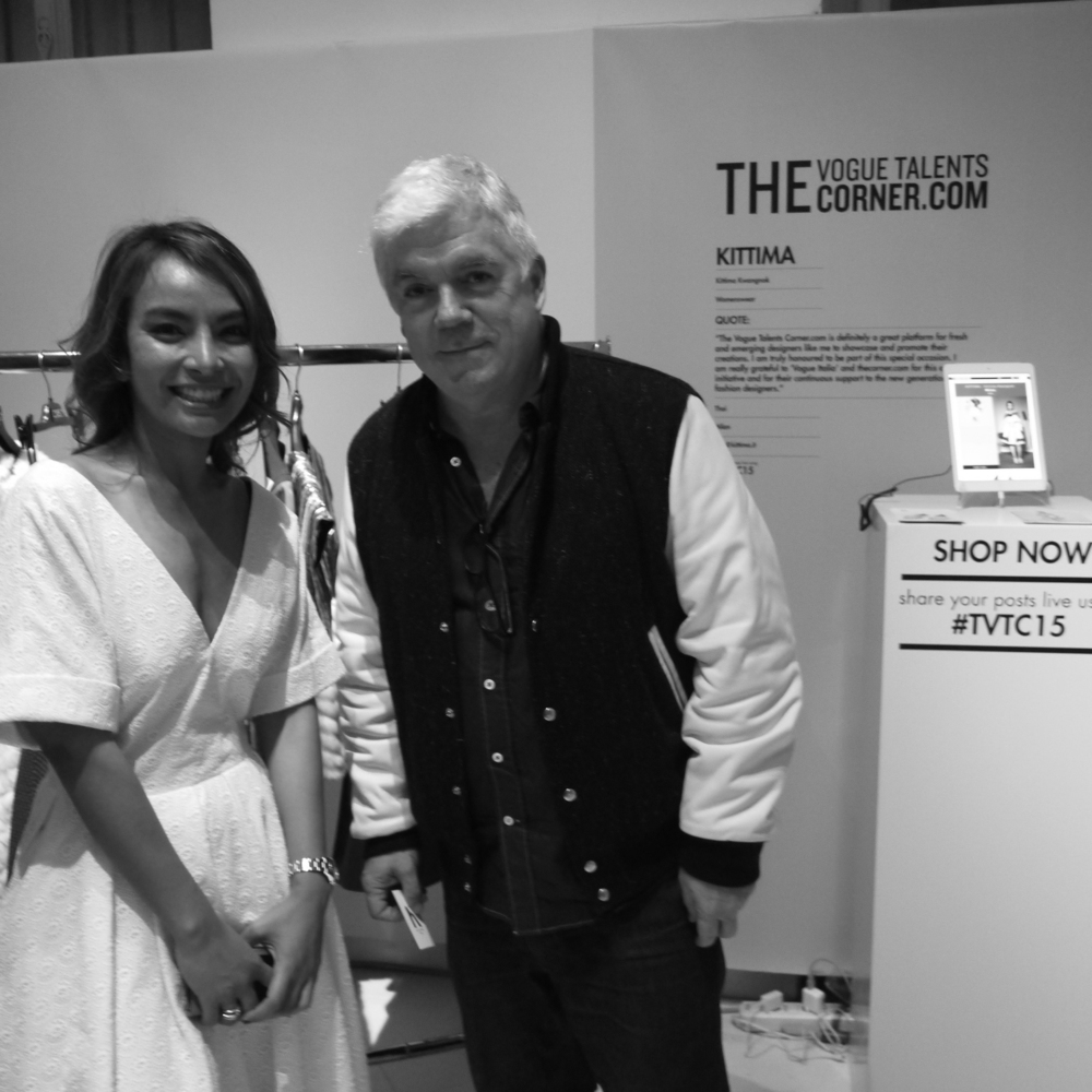 Tim Blanks, Editor at large for Style.com