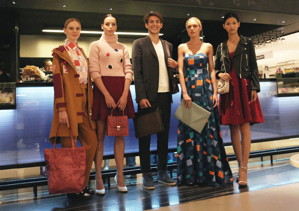 Kittima present the fall15 collection at Larinascente during Expo2015 Milano