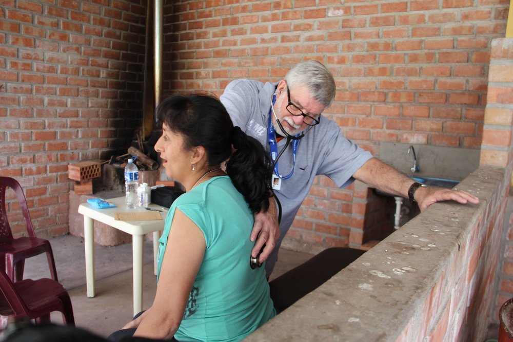 Primary Care with Dr. Gary Veenman in Peru