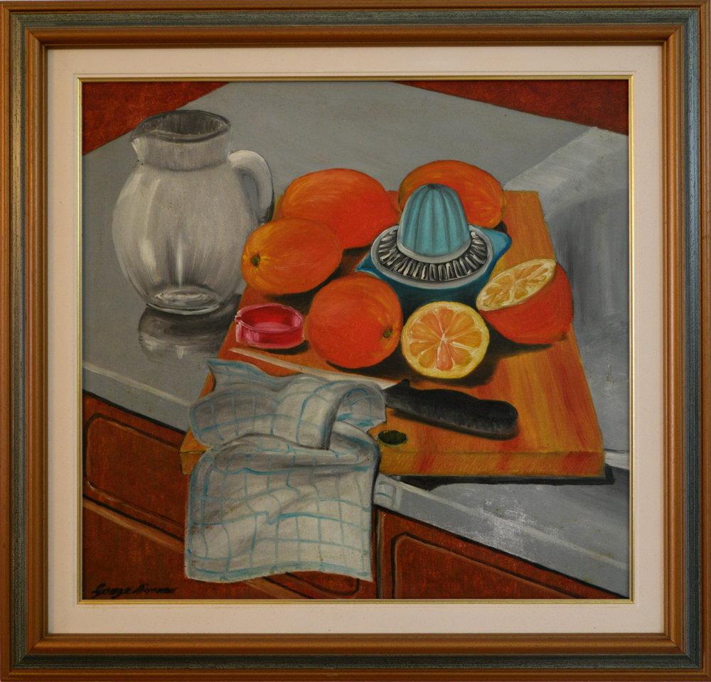 Still Life: Oranges