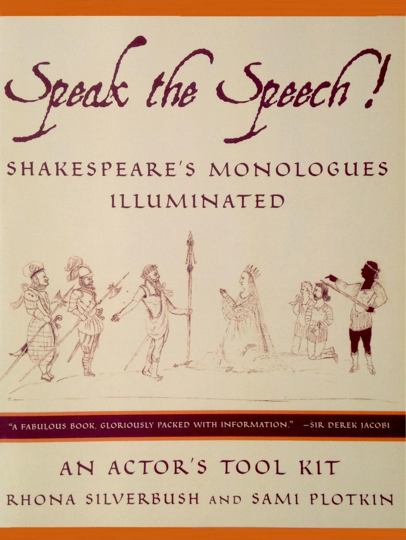 Speak the Speech