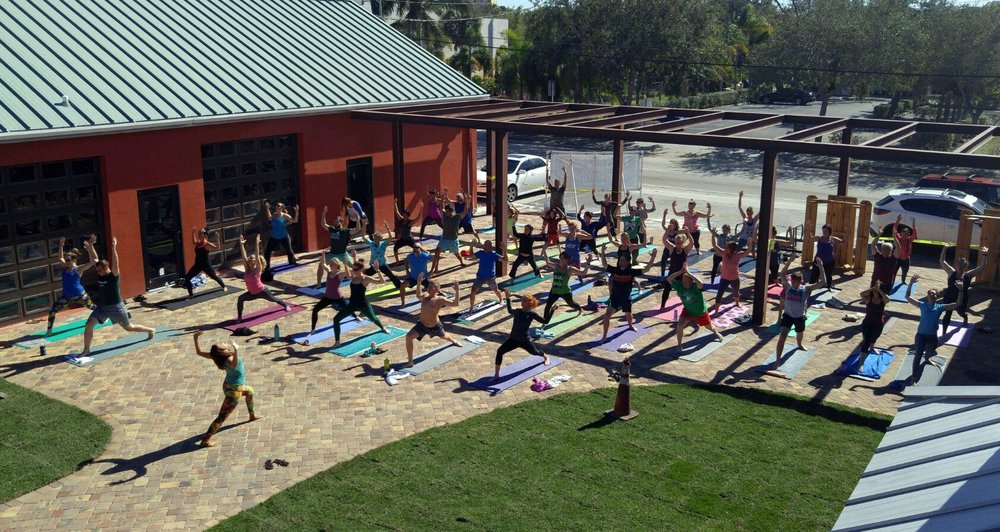 Namaste For One More- Yoga at Intracoastal Brewing Company