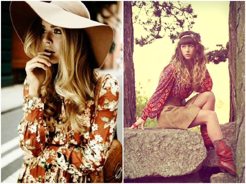 Festival boho look. Thank you to ALEXE R. on LookBook for this wonderful picture (right)
