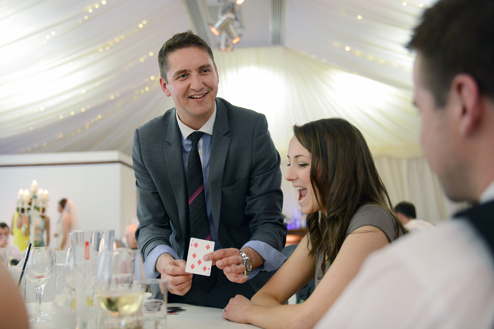 Magic at Villa, Wrea Green in Preston, Lancashire