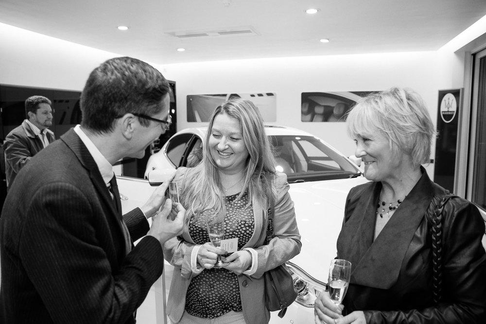 Maserati Corporate Entertainment - Bowkers Car Launch