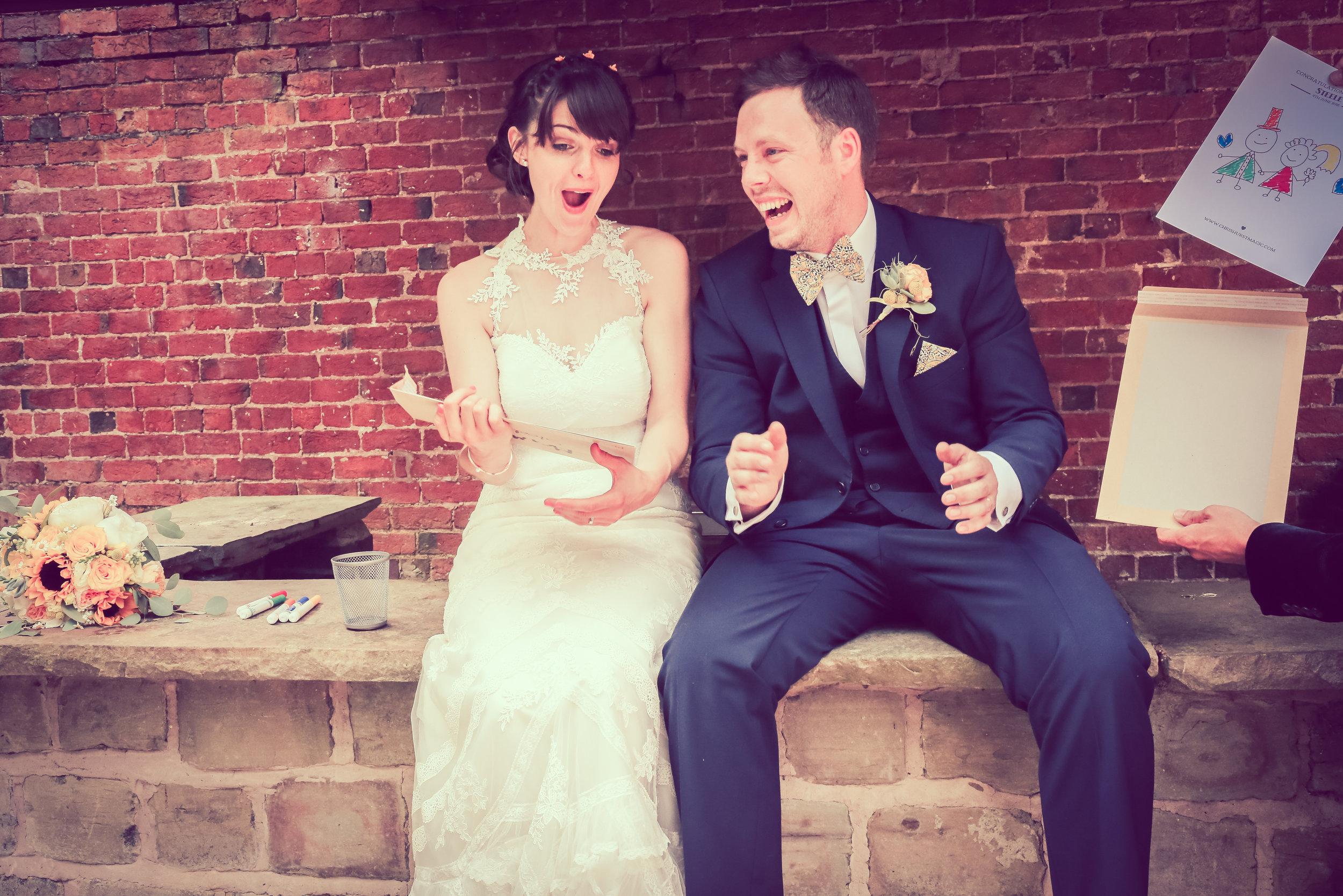 Read The Reviews   — Wedding Magician Lancashire - Christopher Hurst