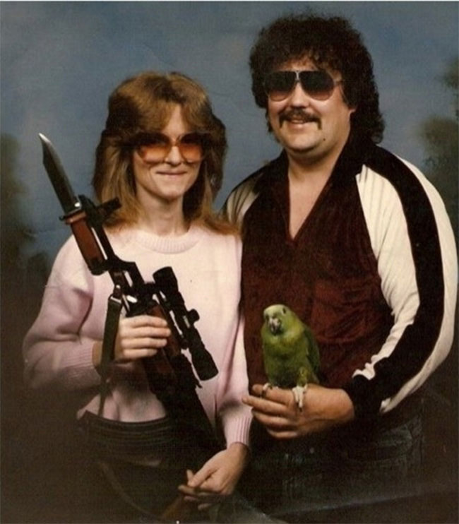 Patty Hearst and Steven Weed in happier times.