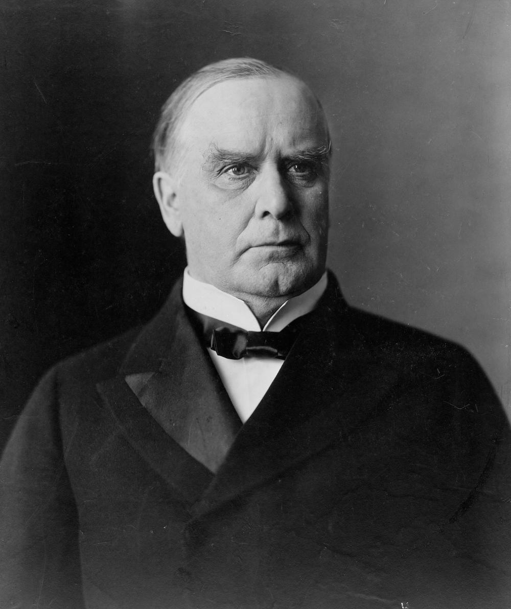 Copy of President William McKinley