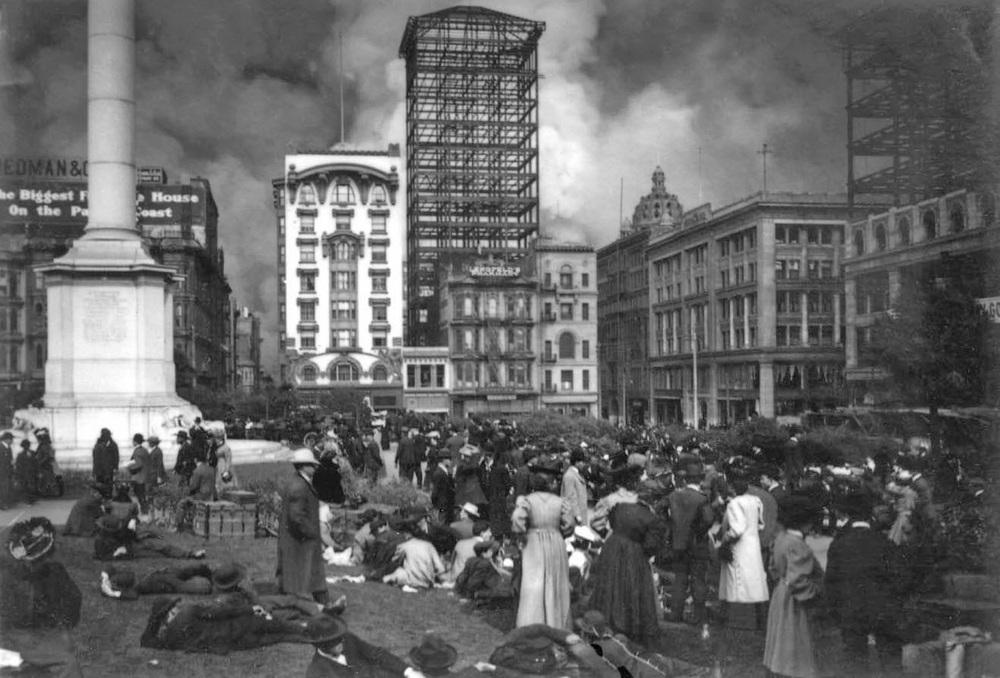 Union Square, San Francisco fire.jpg