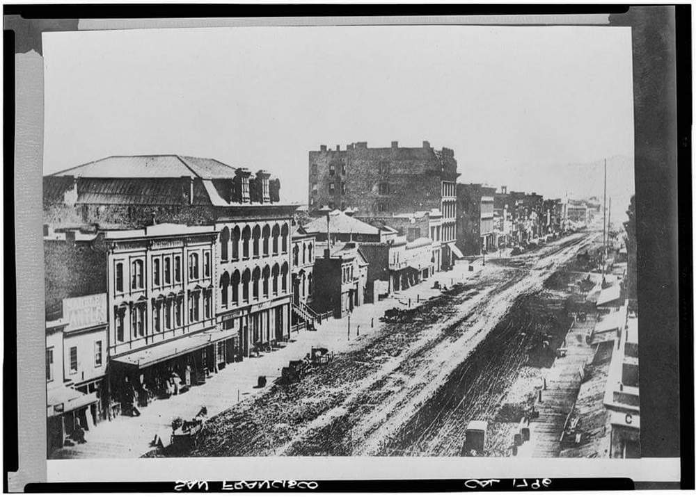 Copy of South Side of Market Street 1864