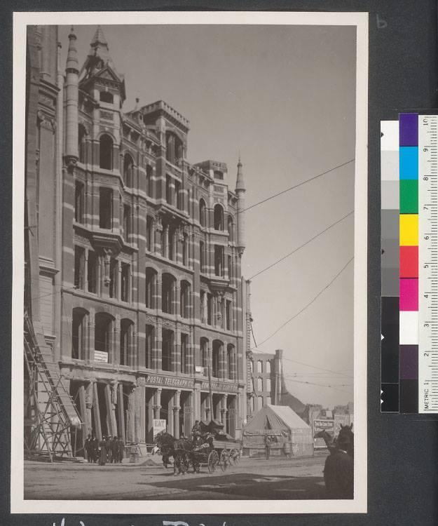 Copy of Original Hobart Building 1885