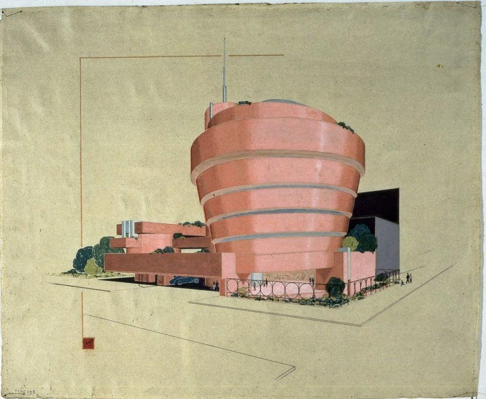 early Guggenheim concept - FLW Foundation.jpg