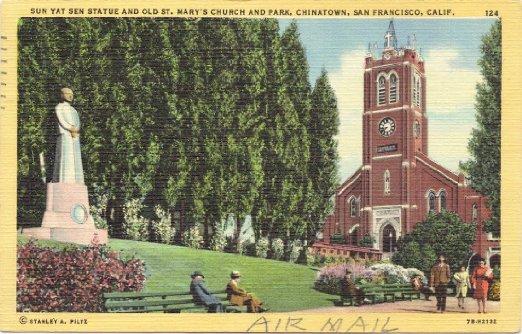 St. Mary's & California Street