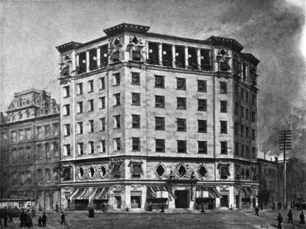 Copy of Original Hearst Building 1898