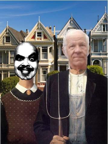 """Victorian Gothic and her dentist, Bob Buckter    1:14:05 Writer/Editor: SK Morton CoHost: Pete Feliciano Producer/Sound Engineer: Squidge McSqueezy Guests: Bob """"Dr. Color"""" Buckter & Babette"""