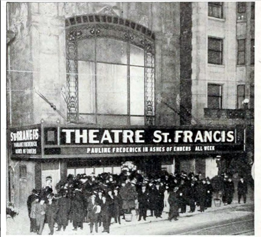 Theatre St. Francis, 333 Geary St. 10-2-1916.jpg